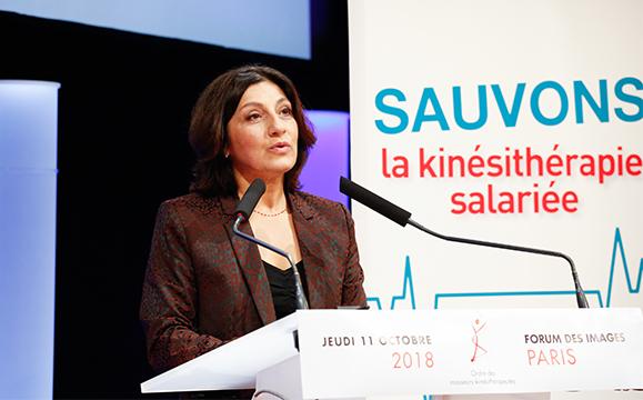 Pascale Mathieu a ouvert le colloque : il y a urgence pour la profession, l'avenir des salariés et surtout les patients.